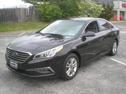 2015 Hyundai Sonata for sale at 611 CAR CONNECTION in Hatboro PA