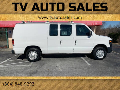 2011 Ford E-Series Cargo for sale at TV Auto Sales in Greer SC