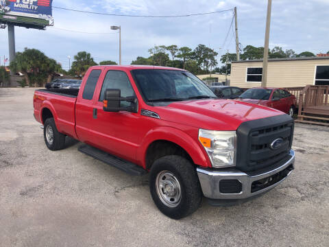 2011 Ford F-250 Super Duty for sale at Friendly Finance Auto Sales in Port Richey FL
