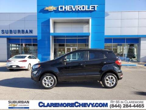 2018 Ford EcoSport for sale at Suburban Chevrolet in Claremore OK