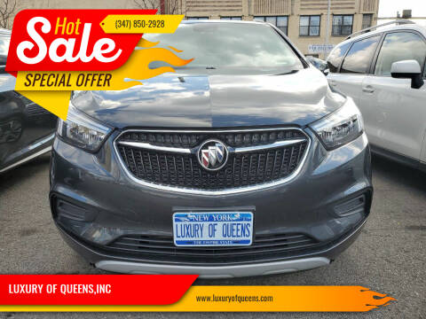 2018 Buick Encore for sale at LUXURY OF QUEENS,INC in Long Island City NY