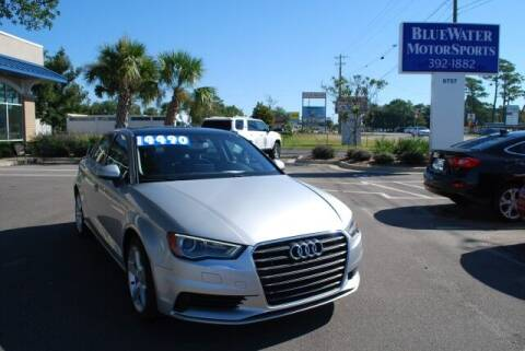 2015 Audi A3 for sale at BlueWater MotorSports in Wilmington NC
