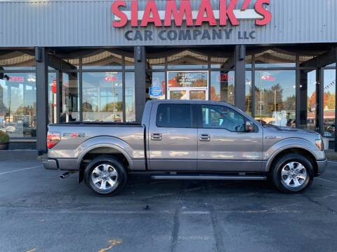 2011 Ford F-150 for sale at Siamak's Car Company llc in Salem OR