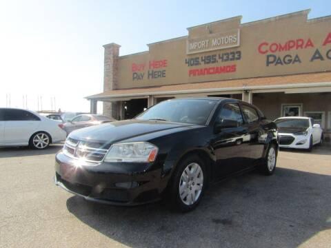 2014 Dodge Avenger for sale at Import Motors in Bethany OK