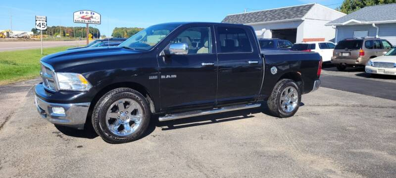 2009 Dodge Ram Pickup 1500 for sale at D AND D AUTO SALES AND REPAIR in Marion WI