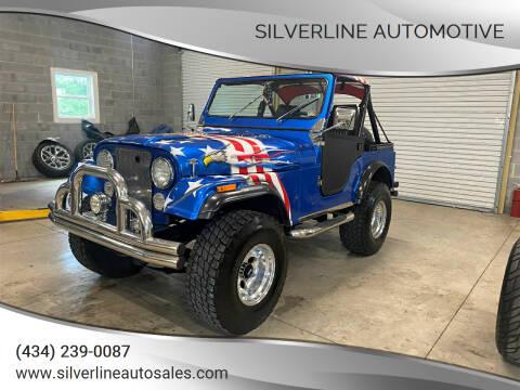 1981 Jeep CJ-5 for sale at Silverline Automotive in Lynchburg VA