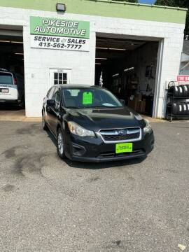 2012 Subaru Impreza for sale at Pikeside Automotive in Westfield MA