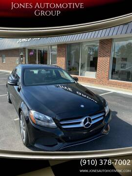 2015 Mercedes-Benz C-Class for sale at Jones Automotive Group in Jacksonville NC