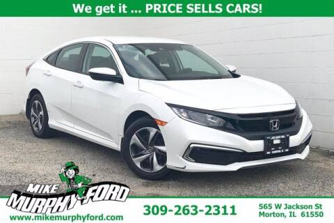 2019 Honda Civic for sale at Mike Murphy Ford in Morton IL