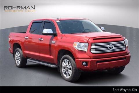 2015 Toyota Tundra for sale at BOB ROHRMAN FORT WAYNE TOYOTA in Fort Wayne IN