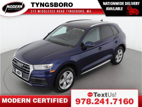 2018 Audi Q5 for sale at Modern Auto Sales in Tyngsboro MA
