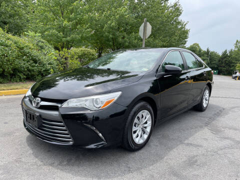 2016 Toyota Camry for sale at Dreams Auto Group LLC in Sterling VA