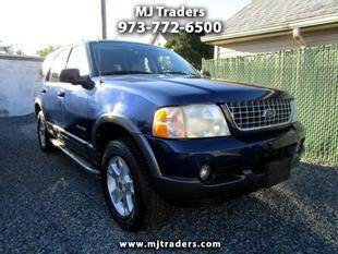 2004 Ford Explorer for sale at M J Traders Ltd. in Garfield NJ