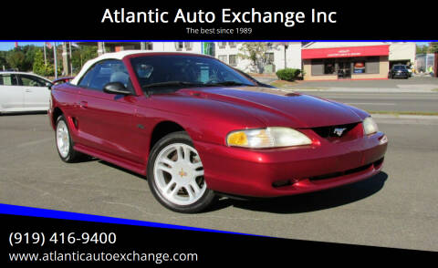1996 Ford Mustang for sale at Atlantic Auto Exchange Inc in Durham NC