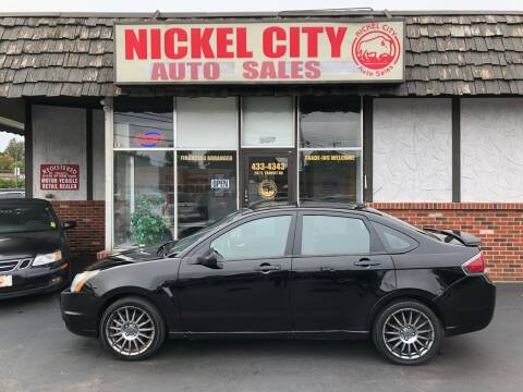 2010 Ford Focus for sale at NICKEL CITY AUTO SALES in Lockport NY