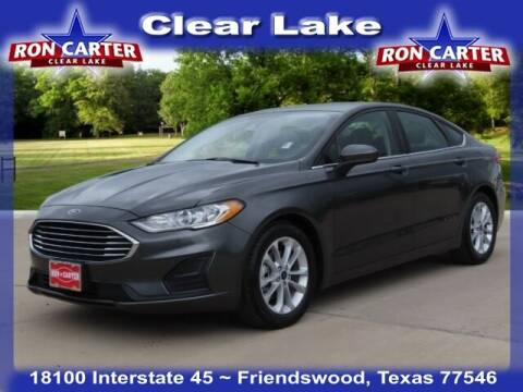 2020 Ford Fusion for sale at Ron Carter  Clear Lake Used Cars in Houston TX