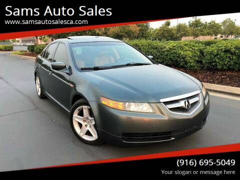 2005 Acura TL for sale at Sams Auto Sales in North Highlands CA