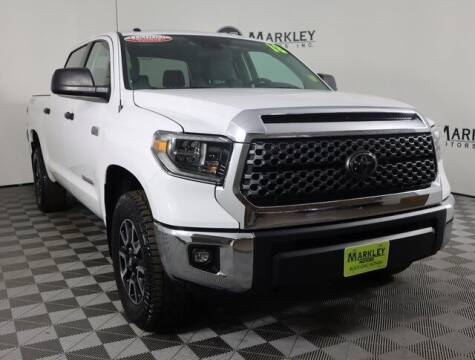 2018 Toyota Tundra for sale at Markley Motors in Fort Collins CO
