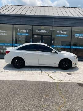 2014 Chevrolet Cruze for sale at Georgia Certified Motors in Stockbridge GA