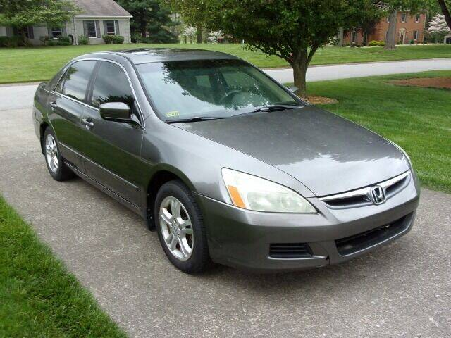 2007 Honda Accord for sale at Curry's Auto Sales in Nicholasville KY