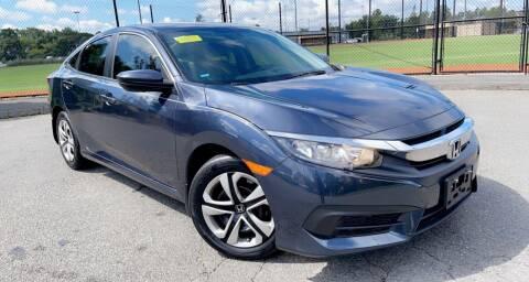 2016 Honda Civic for sale at Maxima Auto Sales in Malden MA