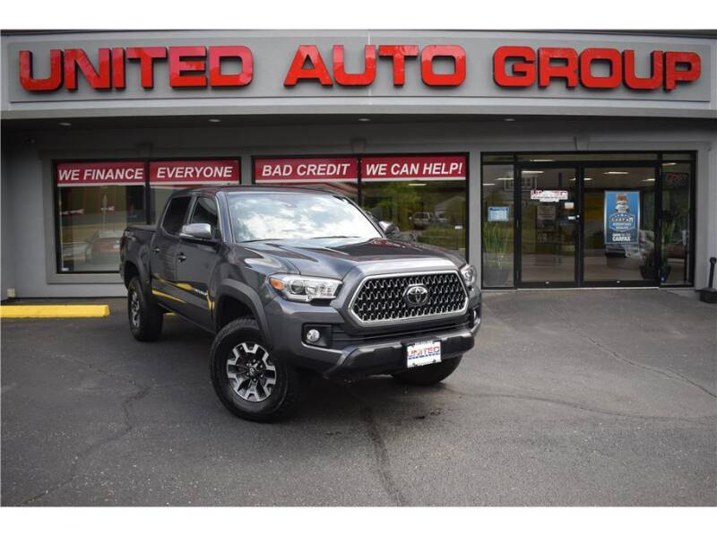 2018 Toyota Tacoma for sale at United Auto Group in Putnam CT