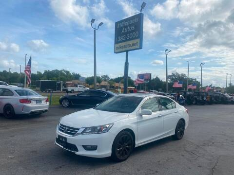 2015 Honda Accord for sale at Michaels Autos in Orlando FL