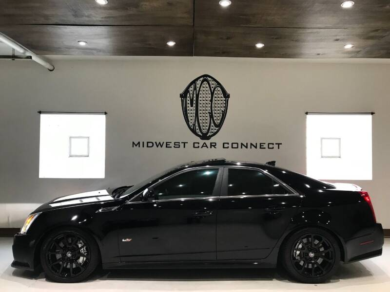 2009 Cadillac CTS-V for sale at Midwest Car Connect in Villa Park IL