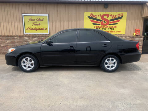 2002 Toyota Camry for sale at BIG 'S' AUTO & TRACTOR SALES in Blanchard OK