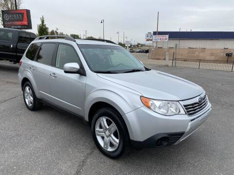 2010 Subaru Forester for sale at Rides Unlimited in Nampa ID