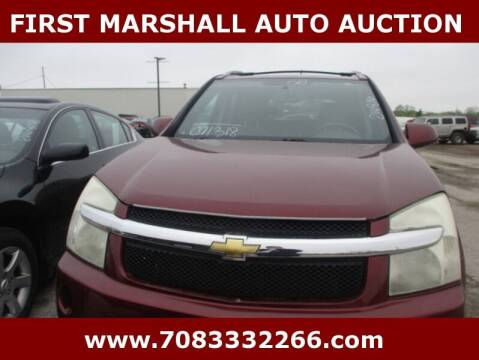 2008 Chevrolet Equinox for sale at First Marshall Auto Auction in Harvey IL