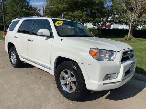 2012 Toyota 4Runner for sale at UNITED AUTO WHOLESALERS LLC in Portsmouth VA