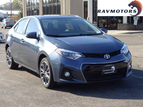 2016 Toyota Corolla for sale at RAVMOTORS 2 in Crystal MN