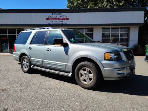 2006 Ford Expedition for sale at Landes Family Auto Sales in Attleboro MA