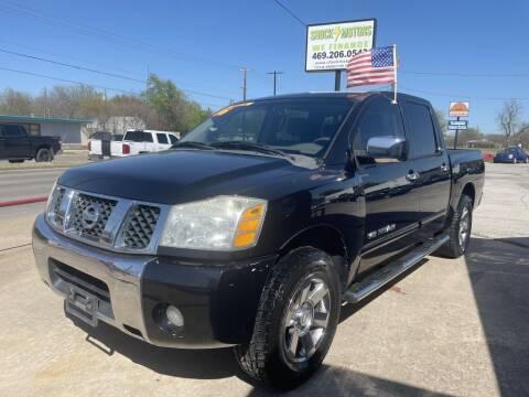 2006 Nissan Titan for sale at Shock Motors in Garland TX