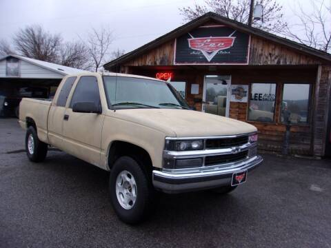 1999 GMC Sierra 1500 Classic for sale at LEE AUTO SALES in McAlester OK