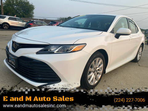 2019 Toyota Camry for sale at E and M Auto Sales in Elgin IL