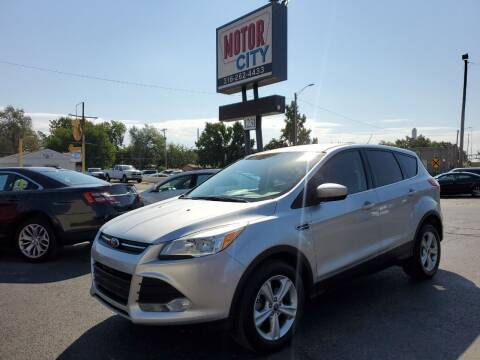 2013 Ford Escape for sale at Motor City Sales in Wichita KS