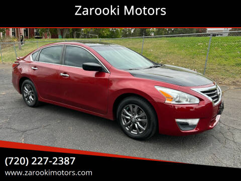 2015 Nissan Altima for sale at Zarooki Motors in Englewood CO