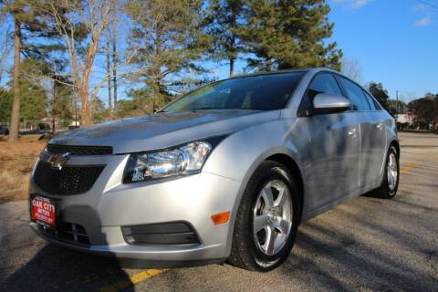 2013 Chevrolet Cruze for sale at Oak City Motors in Garner NC