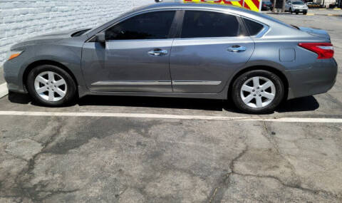 2016 Nissan Altima for sale at ADVANTAGE AUTO SALES INC in Bell CA