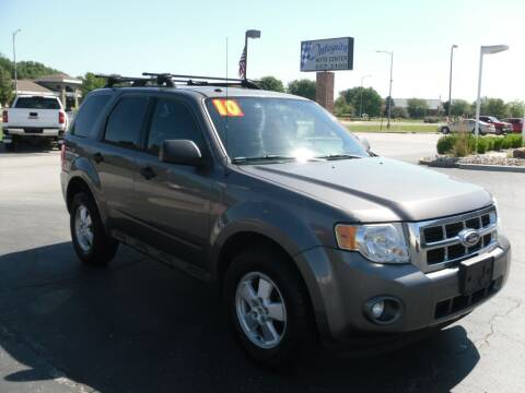 2010 Ford Escape for sale at Integrity Auto Center in Paola KS