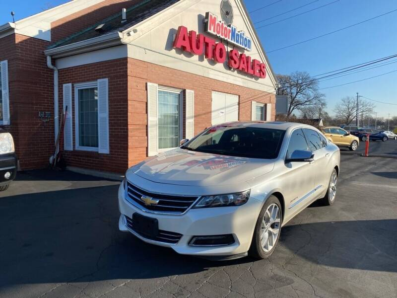 2014 Chevrolet Impala for sale at Motornation Auto Sales in Toledo OH