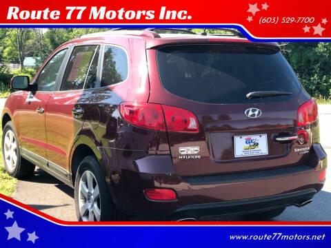 2007 Hyundai Santa Fe for sale at Route 77 Motors Inc. in Weare NH