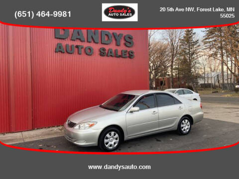 2004 Toyota Camry for sale at Dandy's Auto Sales in Forest Lake MN