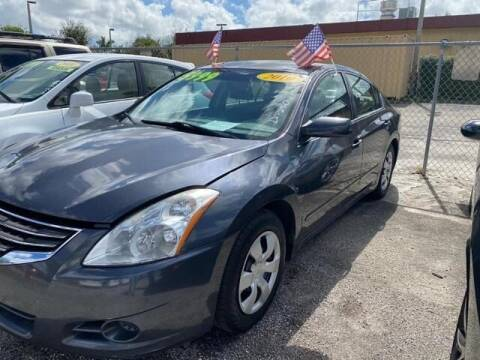2010 Nissan Altima for sale at DAN'S DEALS ON WHEELS in Davie FL