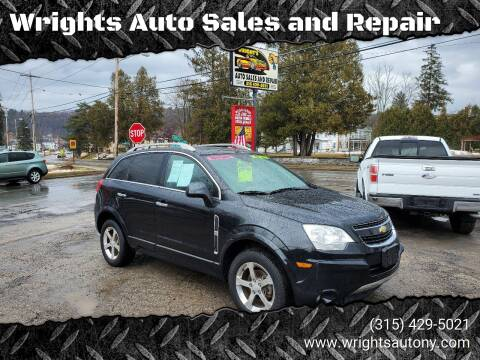 2012 Chevrolet Captiva Sport for sale at Wrights Auto Sales and Repair in Dolgeville NY