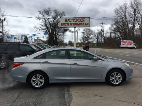 2011 Hyundai Sonata for sale at Action Auto Wholesale in Painesville OH