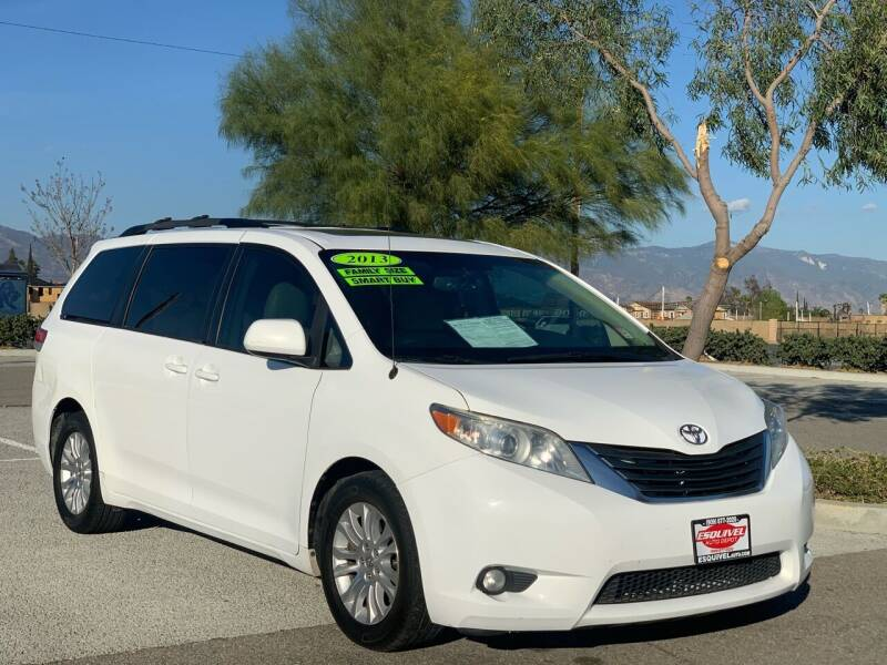 2013 Toyota Sienna for sale at Esquivel Auto Depot in Rialto CA