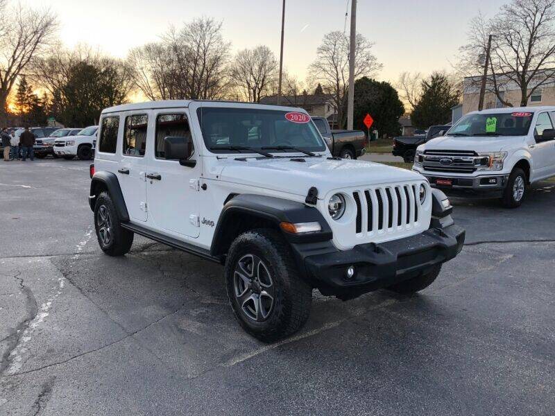 2020 Jeep Wrangler Unlimited for sale at WILLIAMS AUTO SALES in Green Bay WI